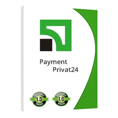 Prestashop Модуль Оплаты через ПриватБанка Paymant Privat 24