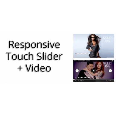 Responsive Touch Slider