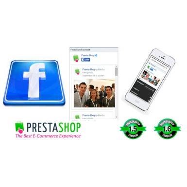 Адаптивный Facebook Like Box для Prestashop