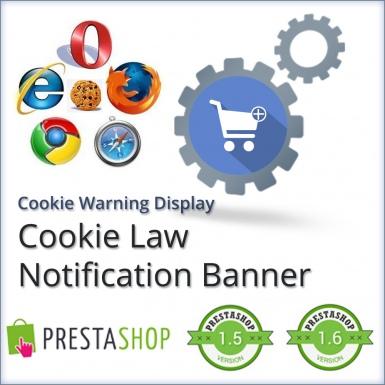 Модуль Cookie -  Уведомление и Отображение, Сообщение Предупреждения