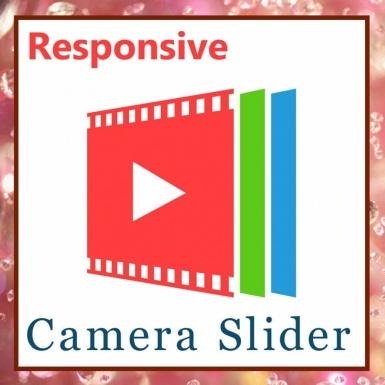 Адаптивный слайдер с камера слайд шоу изображений
