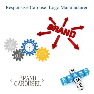 Адаптивная карусель изображений логотипов брендов