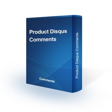 Disqus Комментарии и Отзывы Продукта