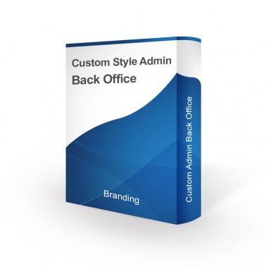 Стиль дизайна для Бэк-офиса и страницы авторизации